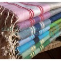 COOL-FOUTA FANTASY HAMMAM 5 colors on Honeycomb Fouta 2x1m.