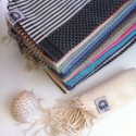 COOL-FOUTA MINI Honeycomb Hammam Fouta Towel size 69x56cm.