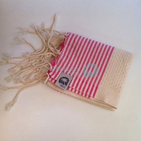 COOL-FOUTA Mini Honeycomb Hammam Fouta Towel