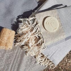 COOL-FOUTA PACK Lurex Hammam - 2x Fouta Lurex panal de abeja + 2x Mini Lurex