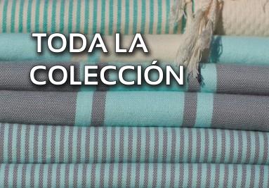 Toda nuestra colección de toallas de Hammam Fouta