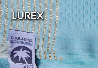 Cool-Fouta Hammam towels with Lurex stripes Collection